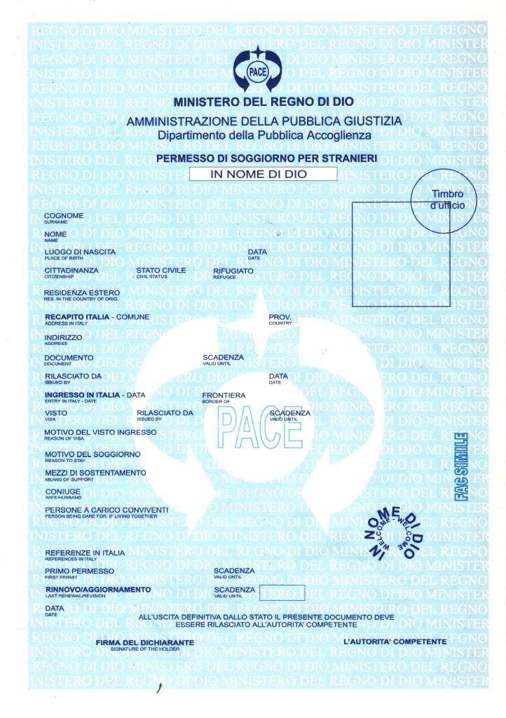 Documenti Per Carta Di Soggiorno – Idea d\'immagine di decorazione