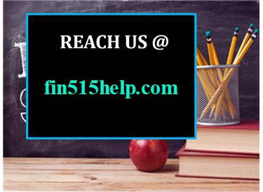 FIN 515 HELP Real Success fin515he...