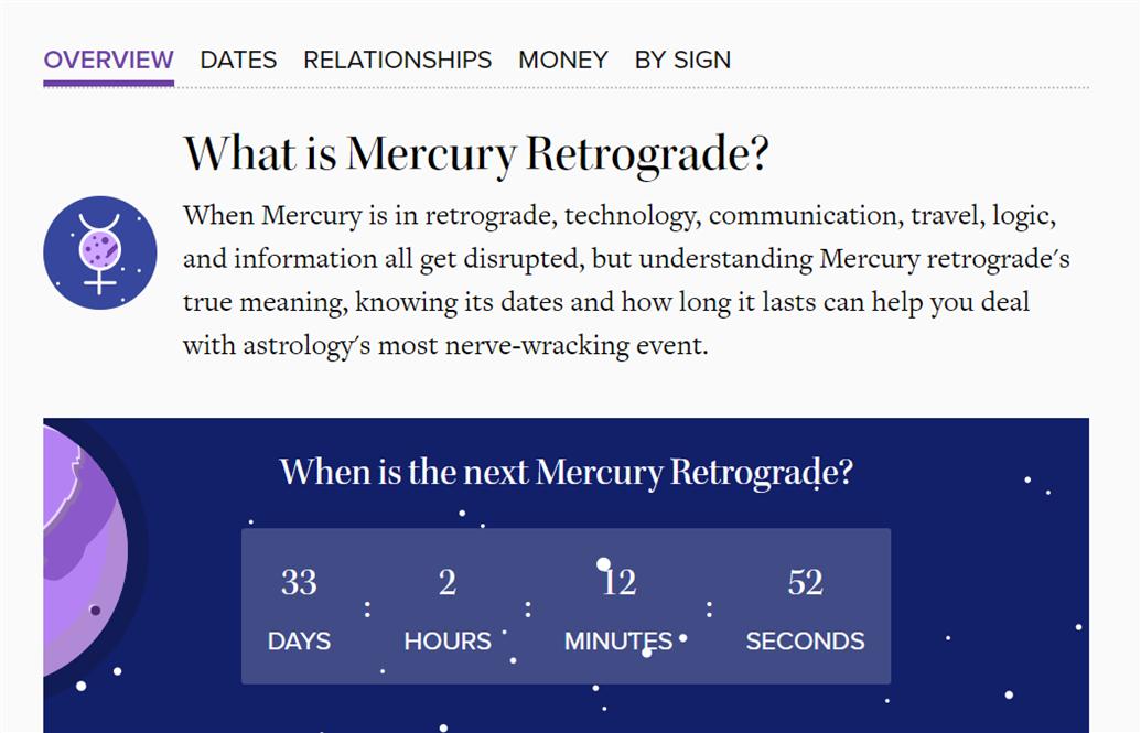 Mercury in Retrograde and by naishwarya on emaze