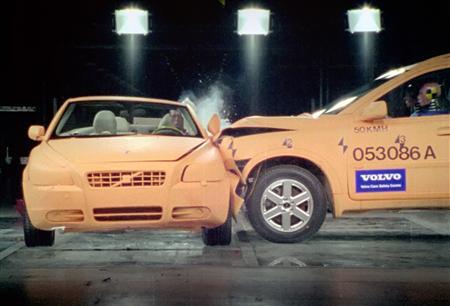 Crumple Zones Car Safety