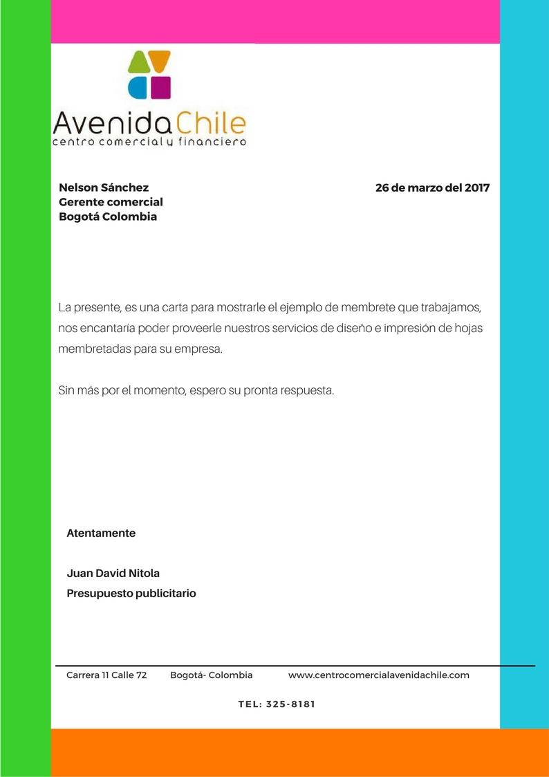 Atractivo Membrete Para Reanudar Ornamento - Ejemplo De Colección De ...