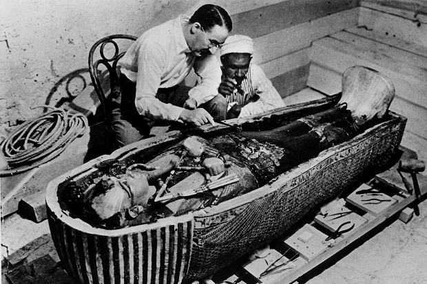 Image result for tutankhamun tomb george herbert