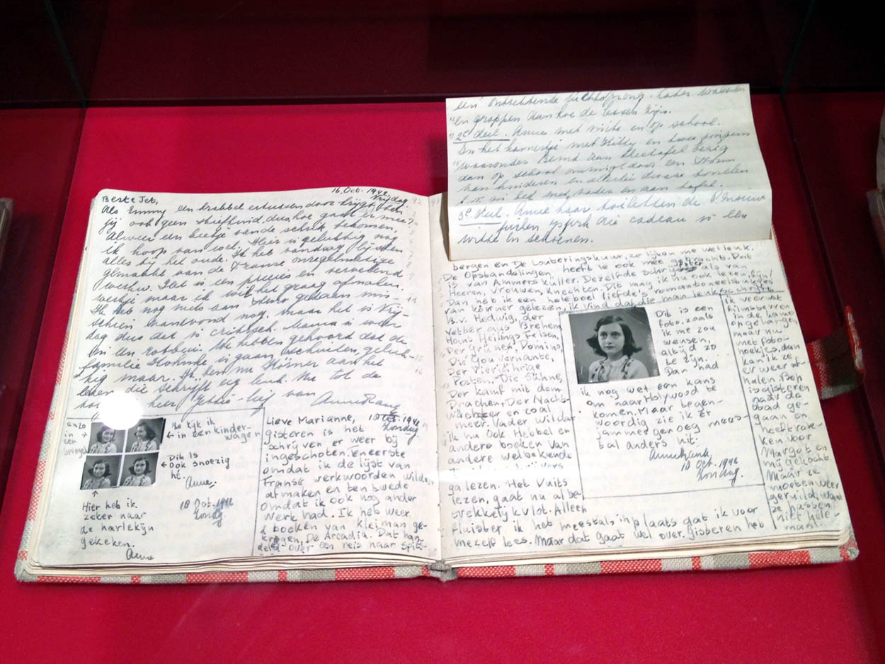 Actual Diary Of Anne F...