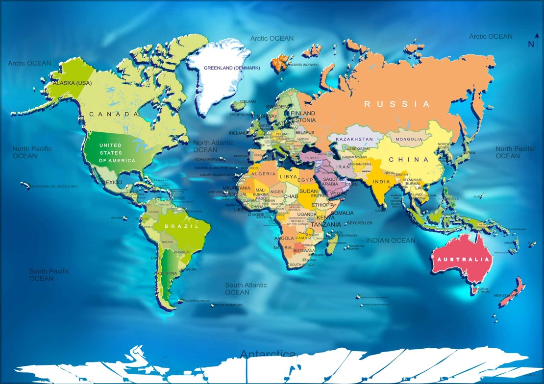 Diagram Free Collection World Map Usa To