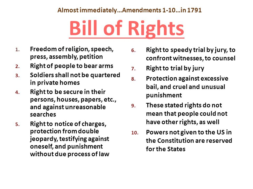united states bill of rights and 28 constitution of the united states 3 the eleventh amendment was proposed by congress on march 4, 1794, when it passed the house, 4 annals of congress 477, 478, having previously passed the senate on january.