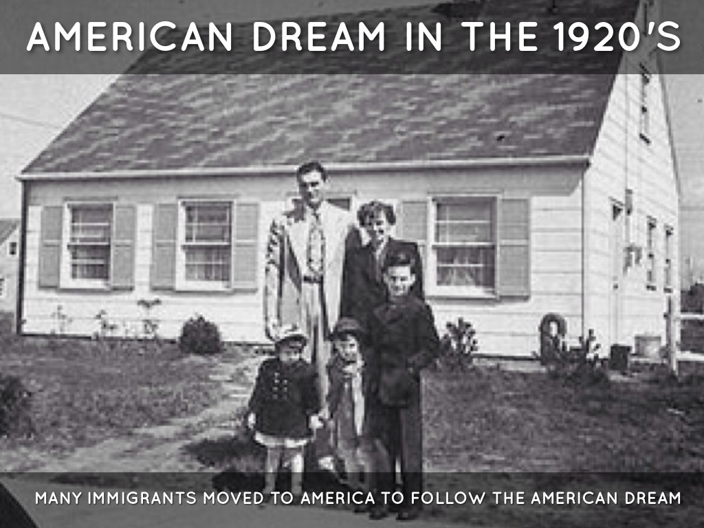the facts about the american dream as described in the great gatsby The great gatsby and the american dream the phrase the american dream was first invented, in other words, to describe a failure, not a promise.