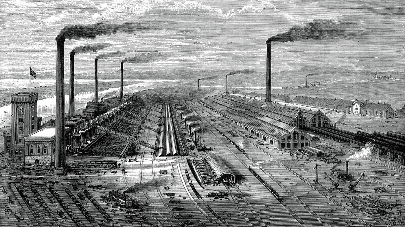 the industrial revolution on emaze