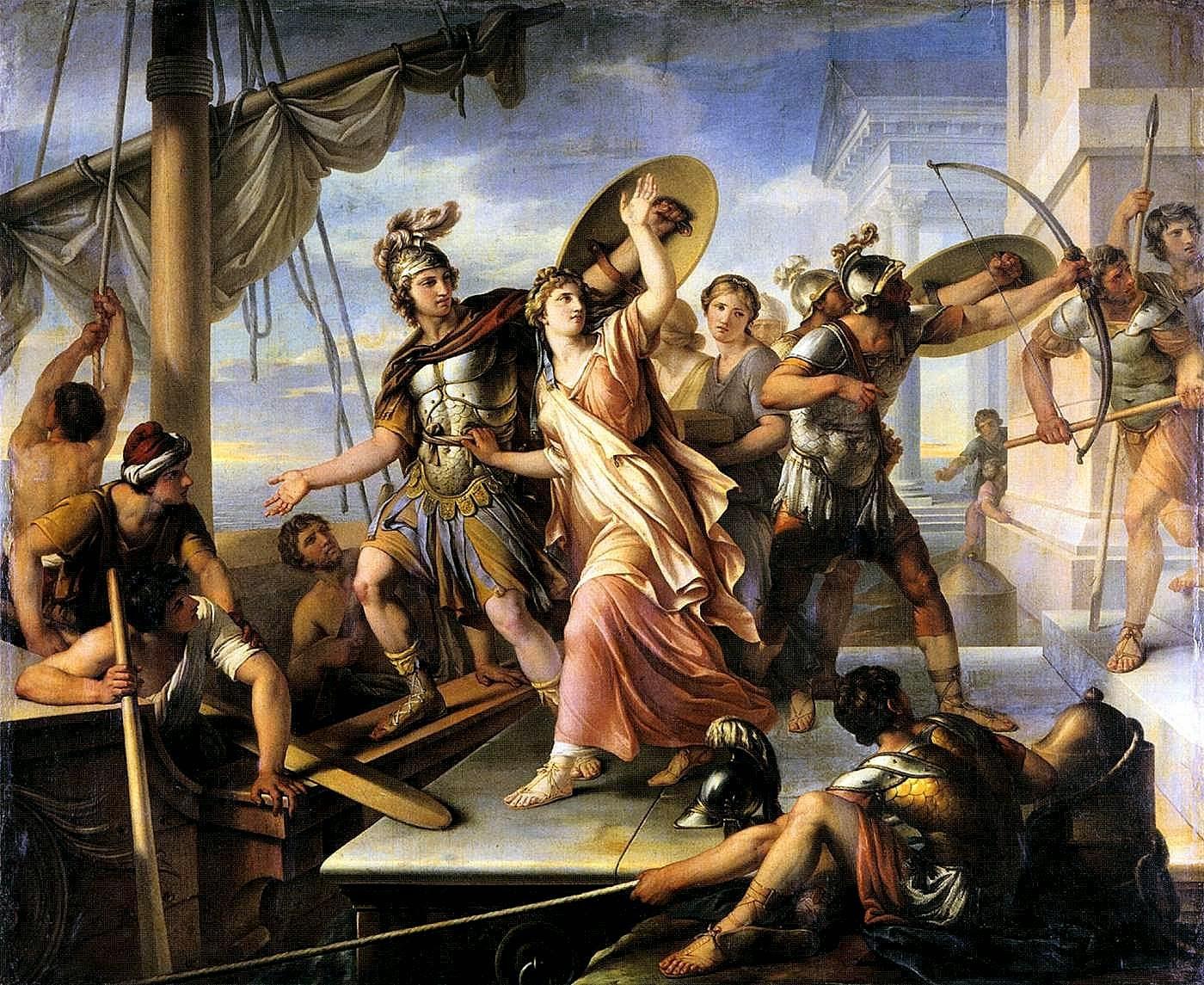 Resultado de imagen de rapto de helena