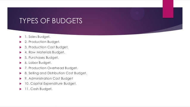 types of budget Looking for a household budget that will work for your family here are three different types plus real life examples of each one.