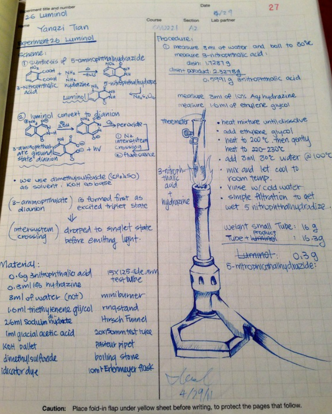 Lab Notebook 101 on emaze