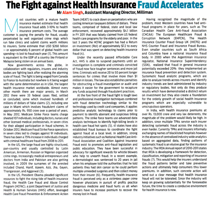 research paper on health insurance in india Introduction healthcare has become one of india's largest sectors - both in terms of revenue and employment healthcare comprises hospitals, medical devices, clinical trials, outsourcing, telemedicine, medical tourism, health insurance and medical equipment.
