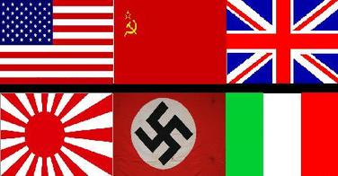 Ww2 Flags Of The Allie...