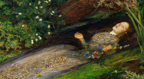 the death of ophelia