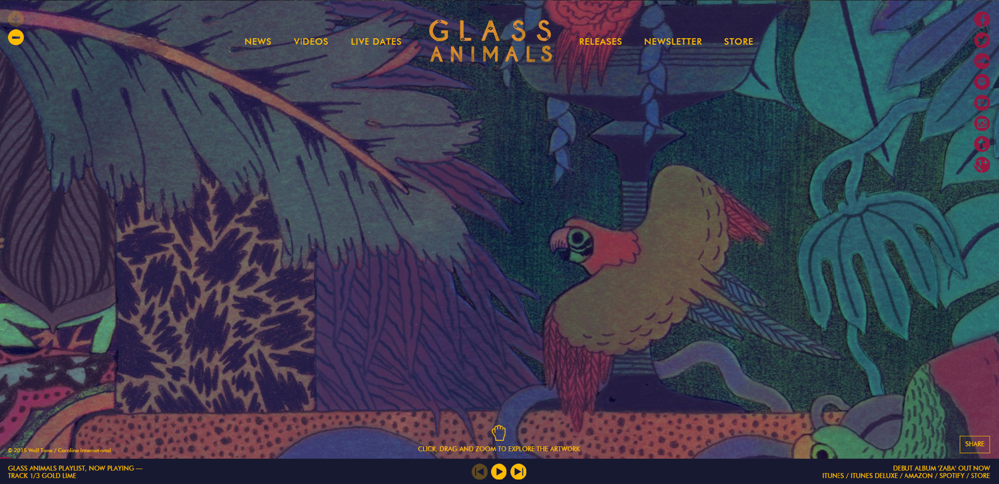 glass animals zaba deluxe download