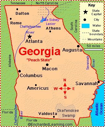 Week Pptx On Emaze - Georgia map fall line