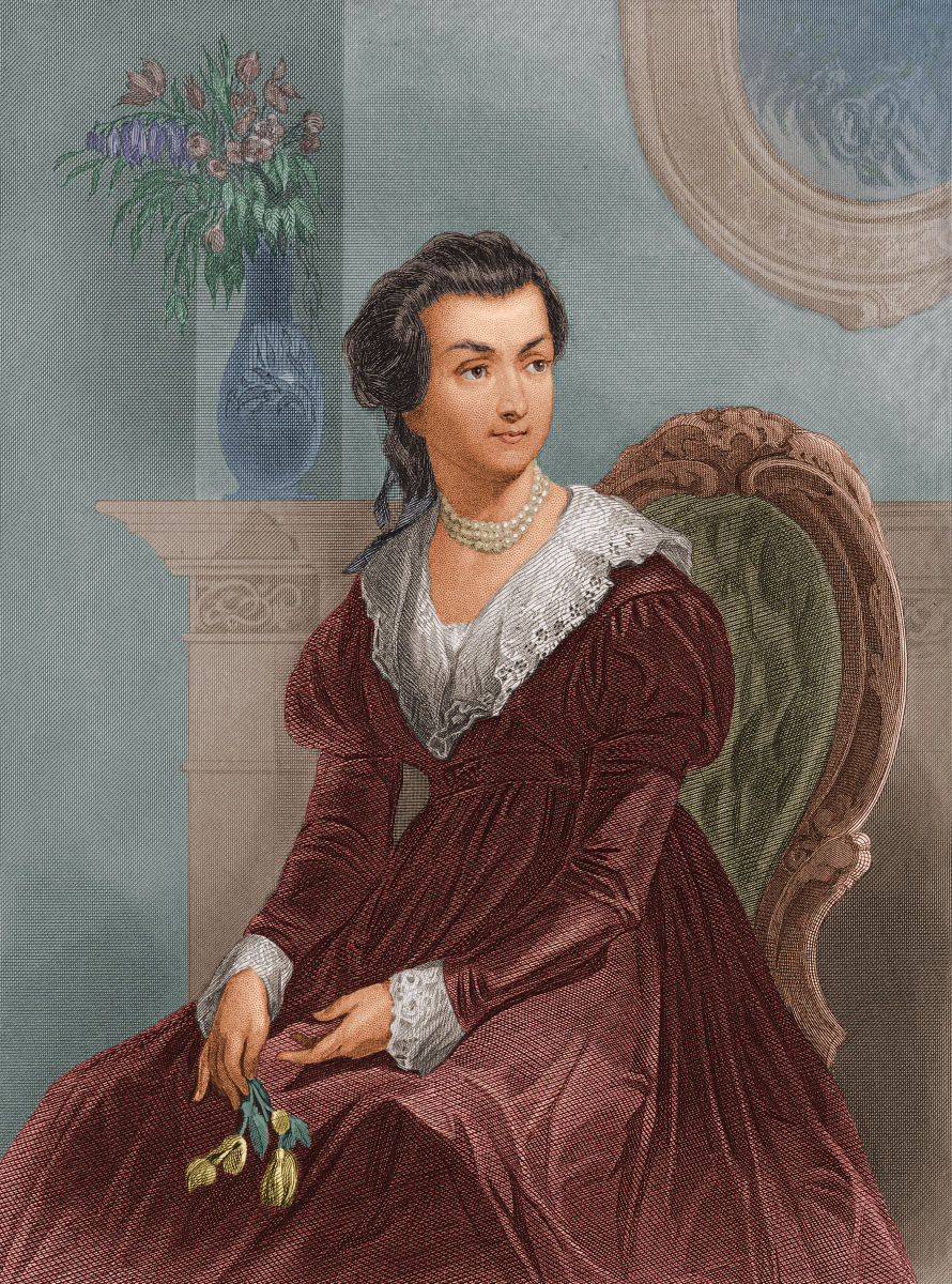 untitled on  abigail adams is famous for melting down her pewter dinnerware and household items to make ammunition for the iers during the revolutionary war