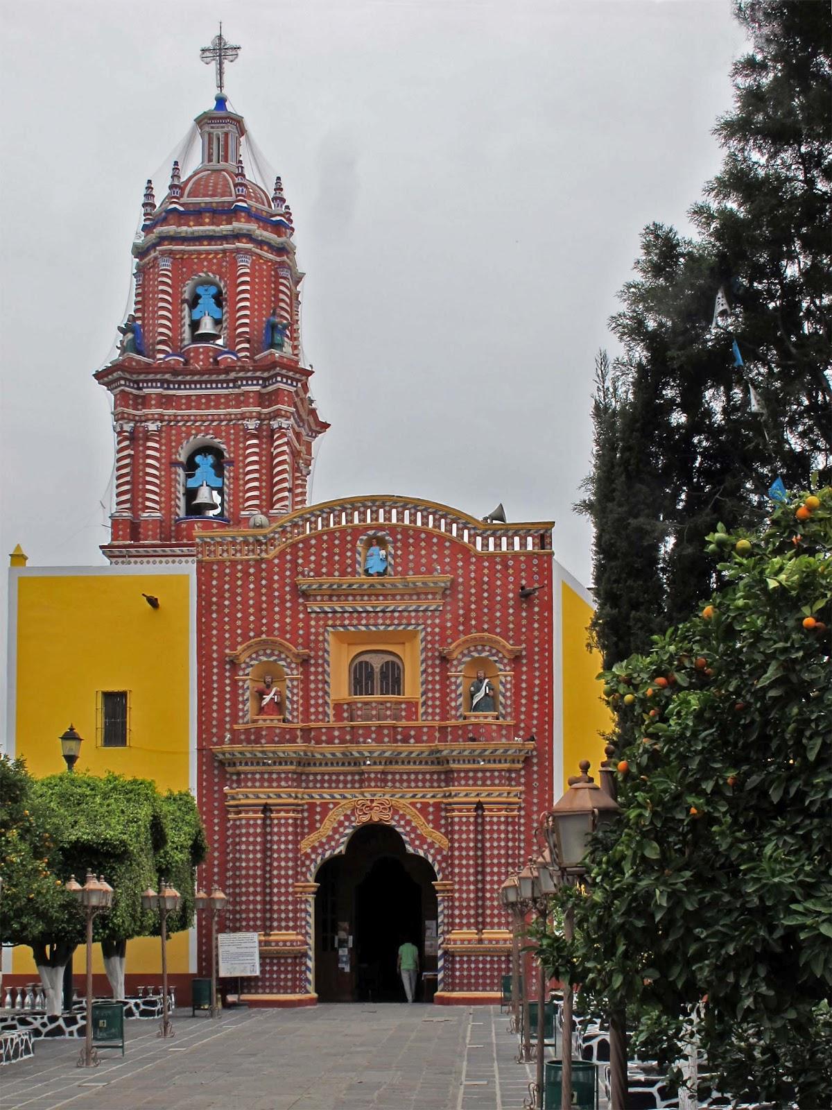 Iglesia de Santa María Tonantzintla.