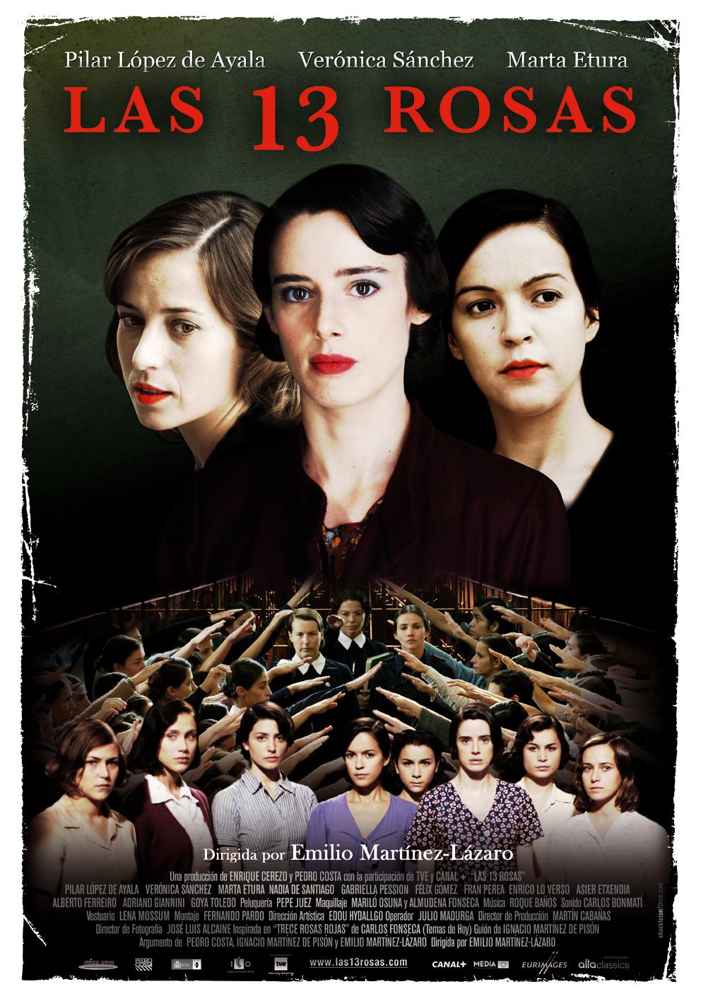 Resultado de imagen para la corta vida de trece rosas  durante la dictadura de franco