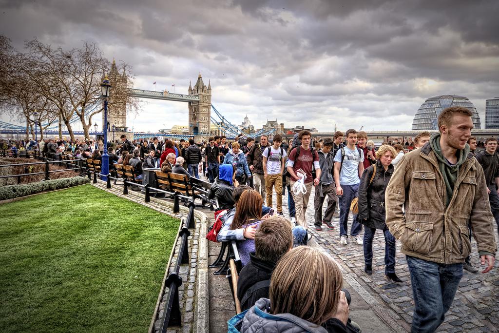Лица лондонцев фото