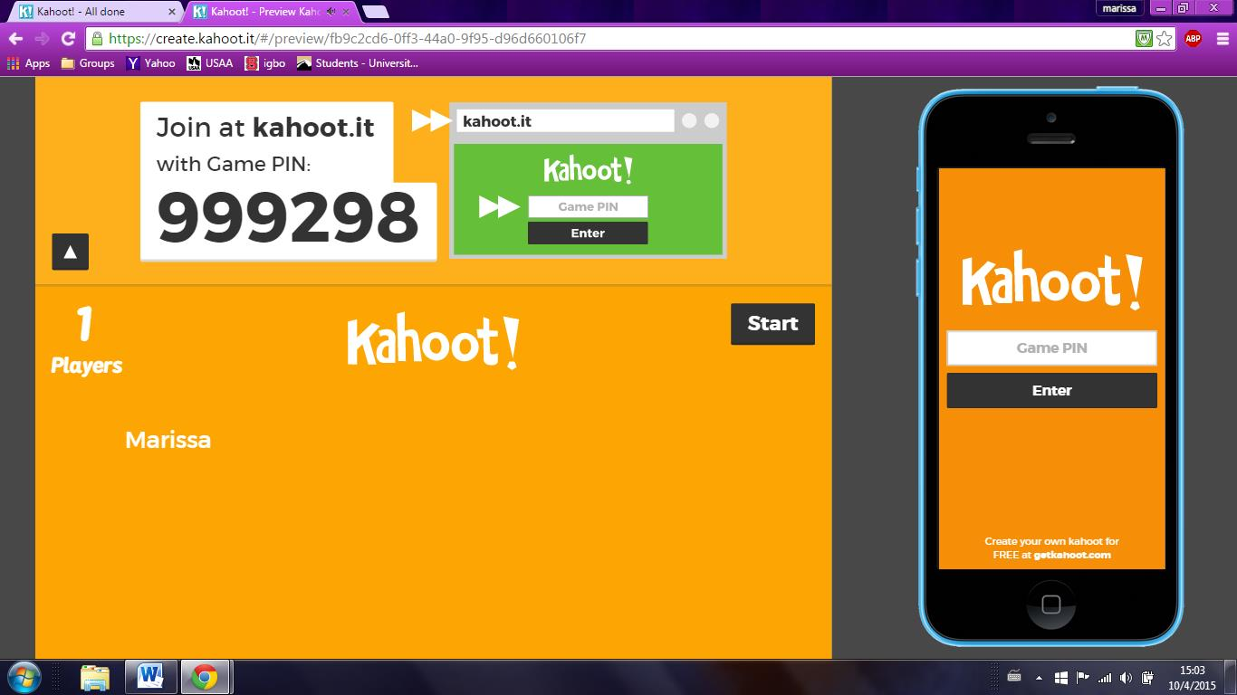 Let's Kahoot! on emaze