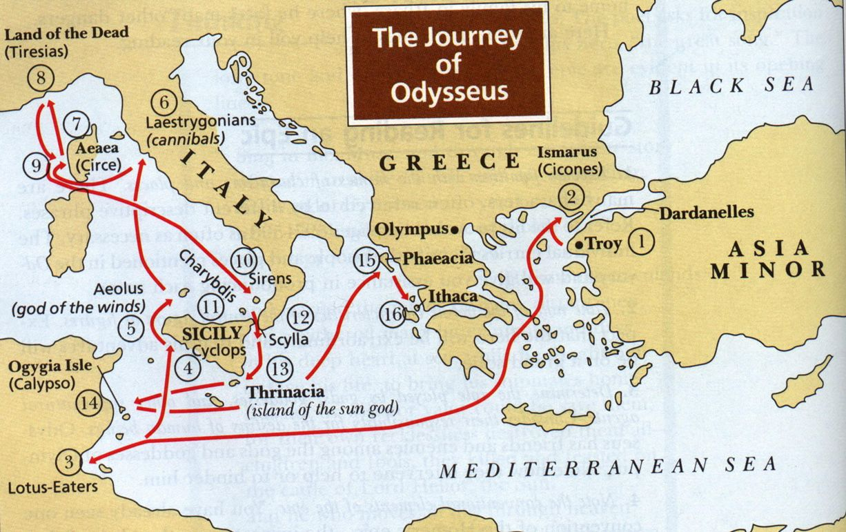 the epic hero cycle of dyesseus by