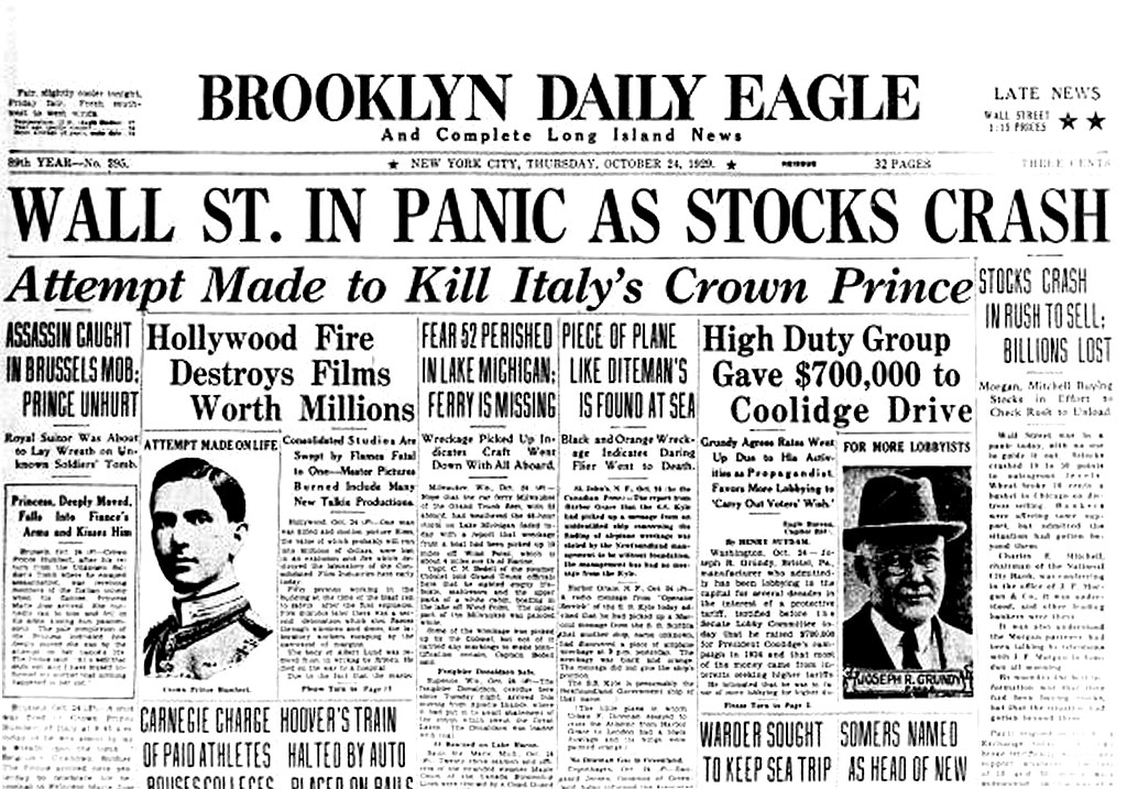 How the stock market crash of 1929 could have been prevented?