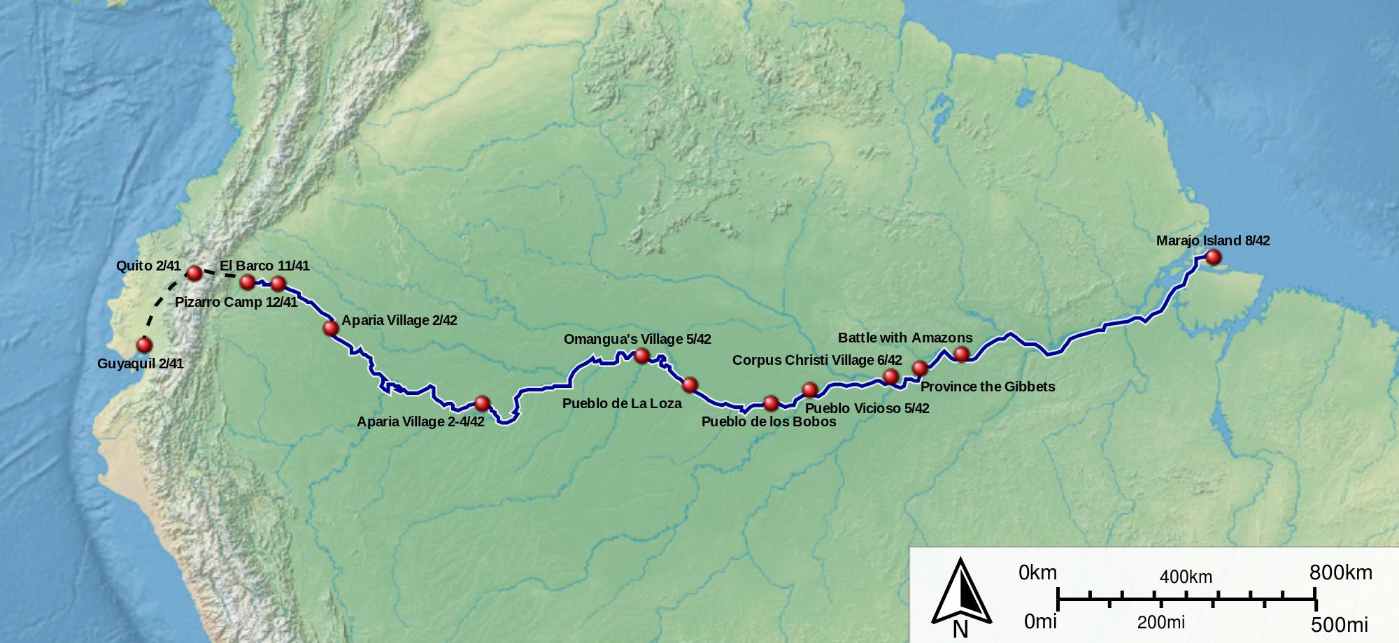 Amazon Rainforest On Emaze - Amazon river map of south america