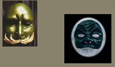 Brighella Mask