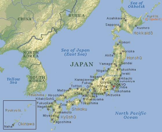 La Cartina Del Giappone.Untitled