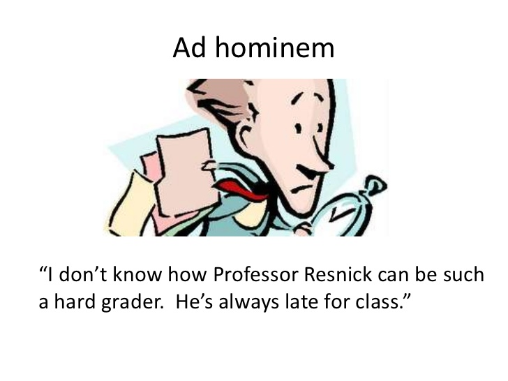 Ad Hominem Fallacy On Emaze