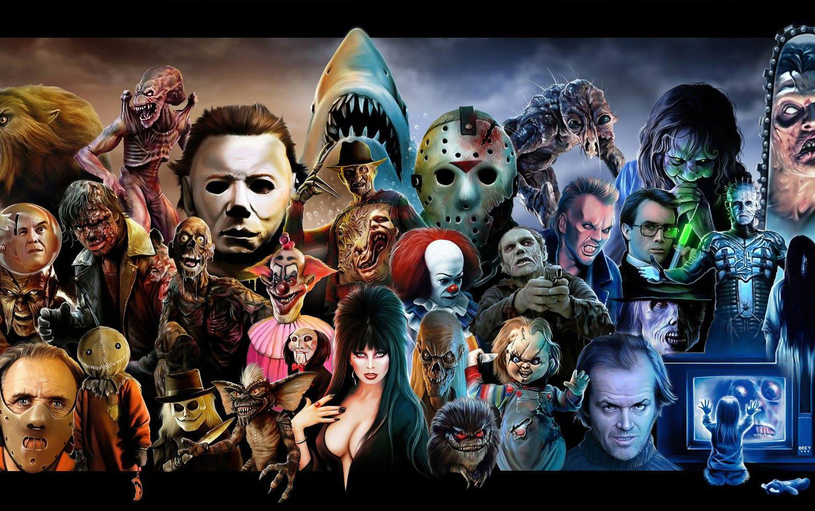 horror movies from 1950s 2010s how many have you seen in your lifetime