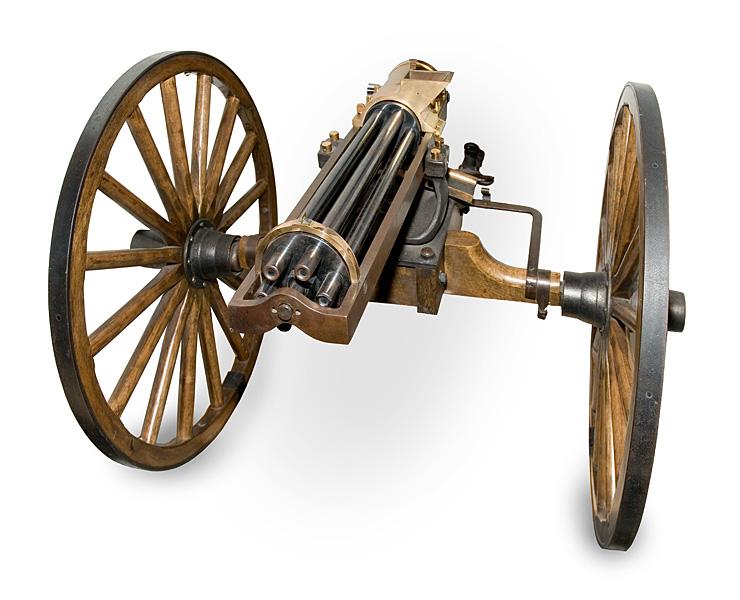 La fabuleuse histoire de la Gatling 28bb71d170ca7d8b0ae076d8d14bbc83