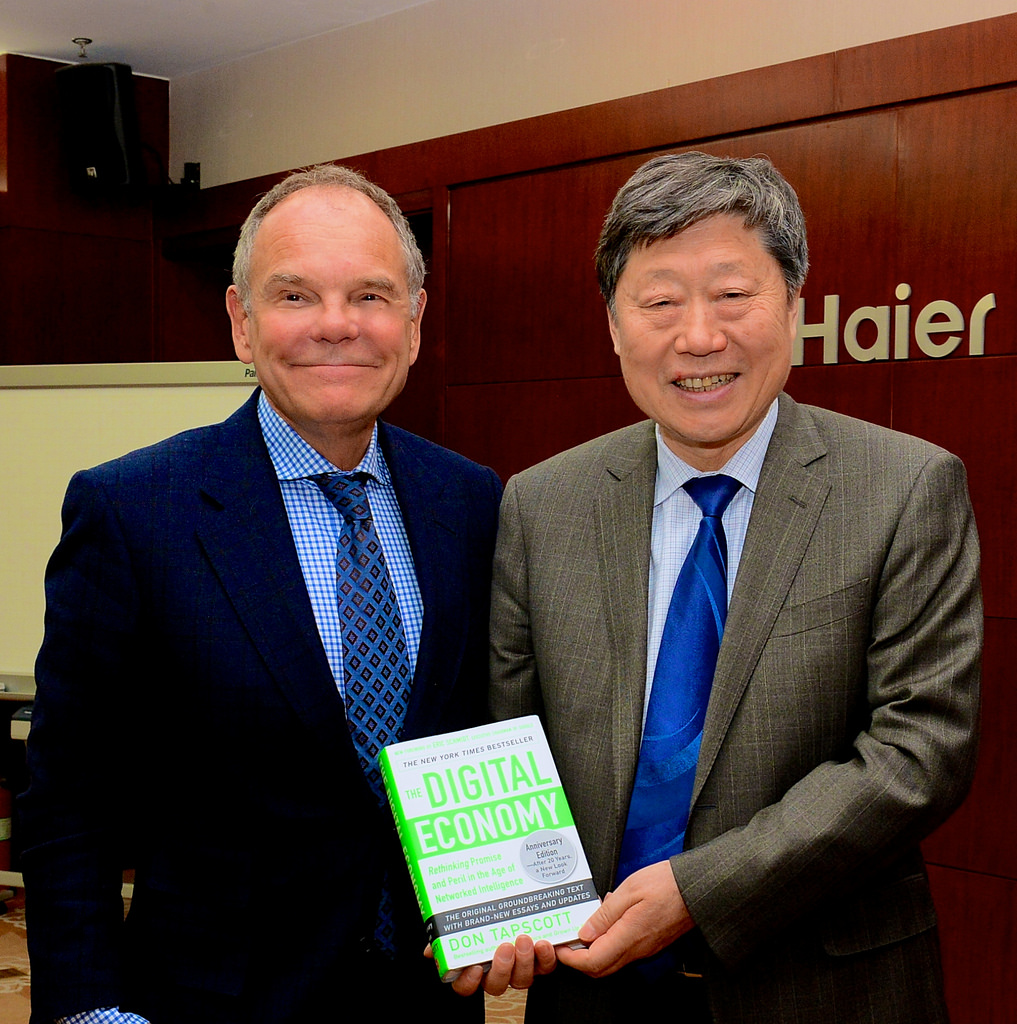 haier ceo The haier group is one of the world's leading appliance makers the man credited behind its success is no other than ceo zhang ruimin.