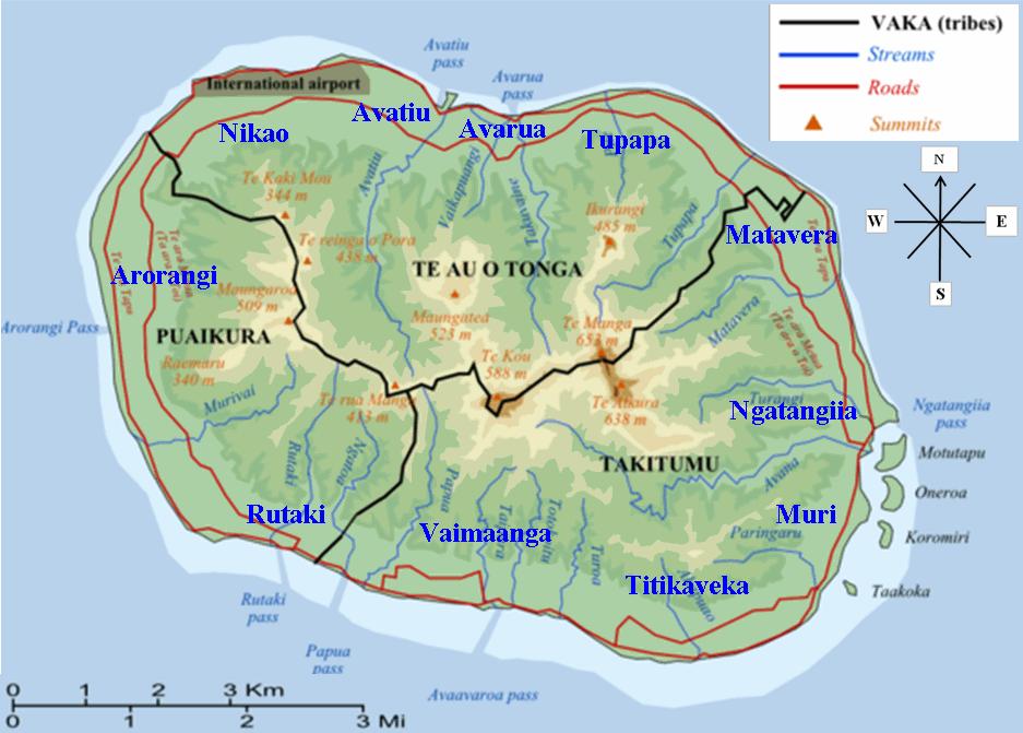 Rarotonga Map Galleryhipcom The Hippest Galleries
