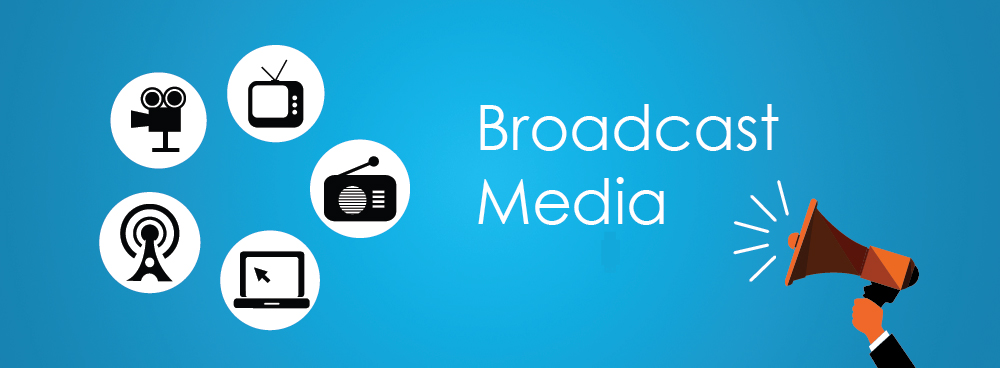 broadcast and print media