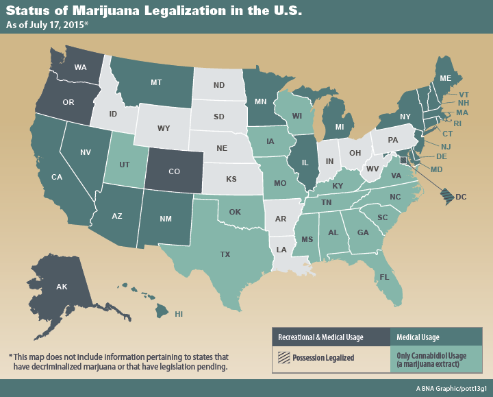 Vape Express CANNABIS KNOWLEDGE World Of Weed Inc Investors - Us map of legal weed 2017