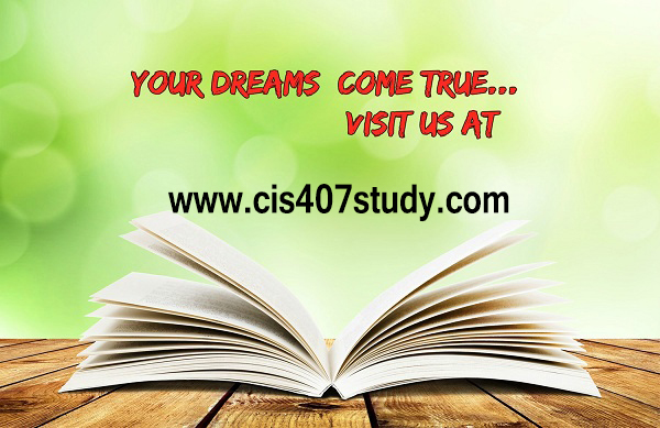 cis 407 study perfect education cis407study com by abarranweek 3 lab 6 exercise 8 on page 668
