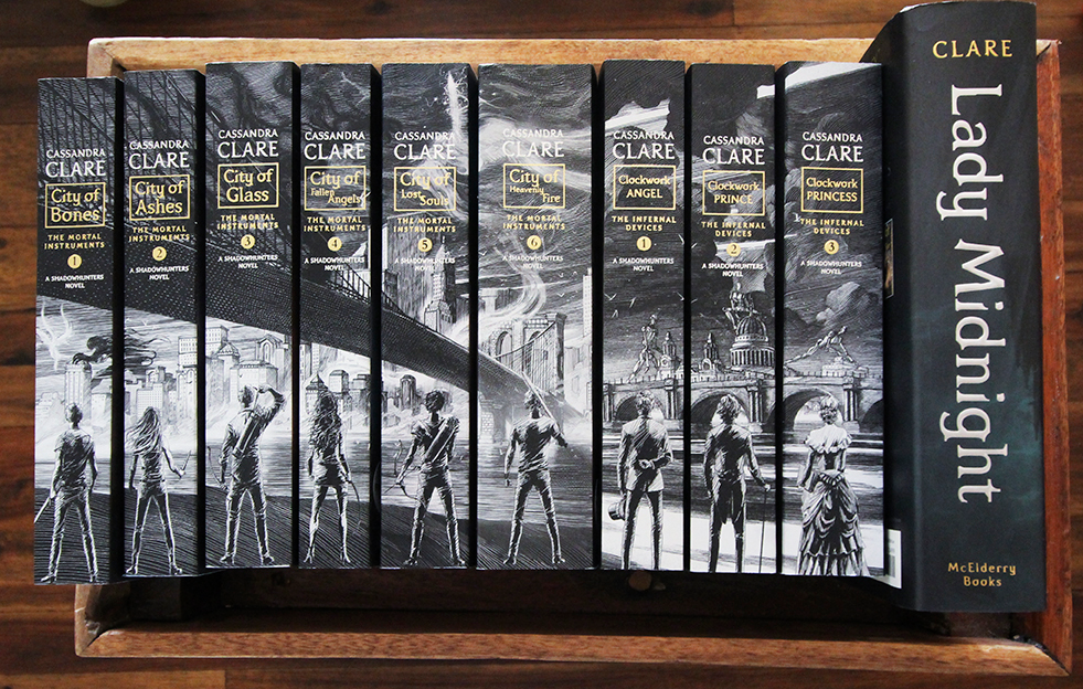 the mortal instruments books - 981×624