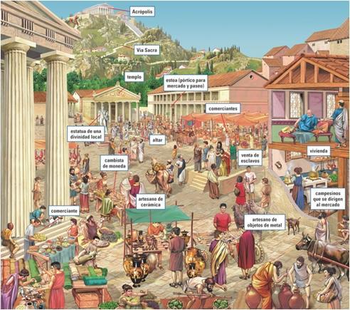 Resultado de imagen de La Polis Griega