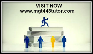 MGT 448 UOP Course Material - mgt44