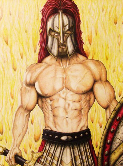 Mars God of War and on emaze