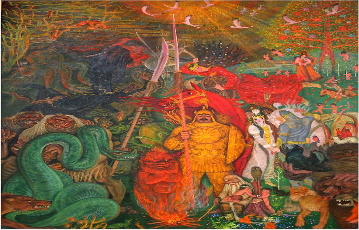олонхо якутский эпос картинки этом аксессуаре