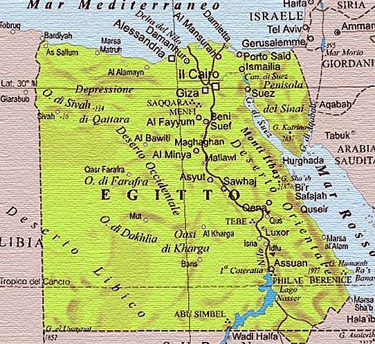 Cartina Del Egitto.L By Alex Busato61 On Emaze