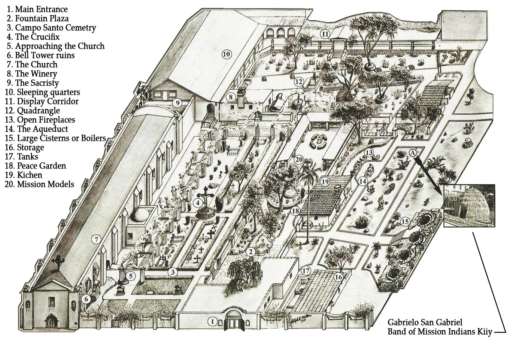 san gabriel mission floor plan - 28 images - luxury