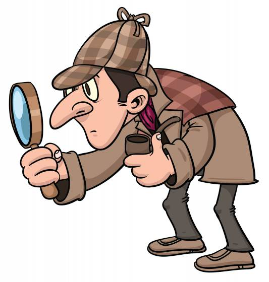 Resultado de imagen para sherlock holmes caricatura