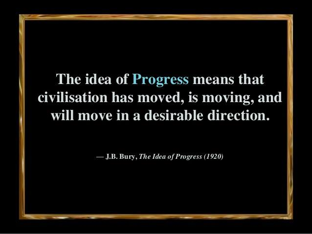 idea of progress definition