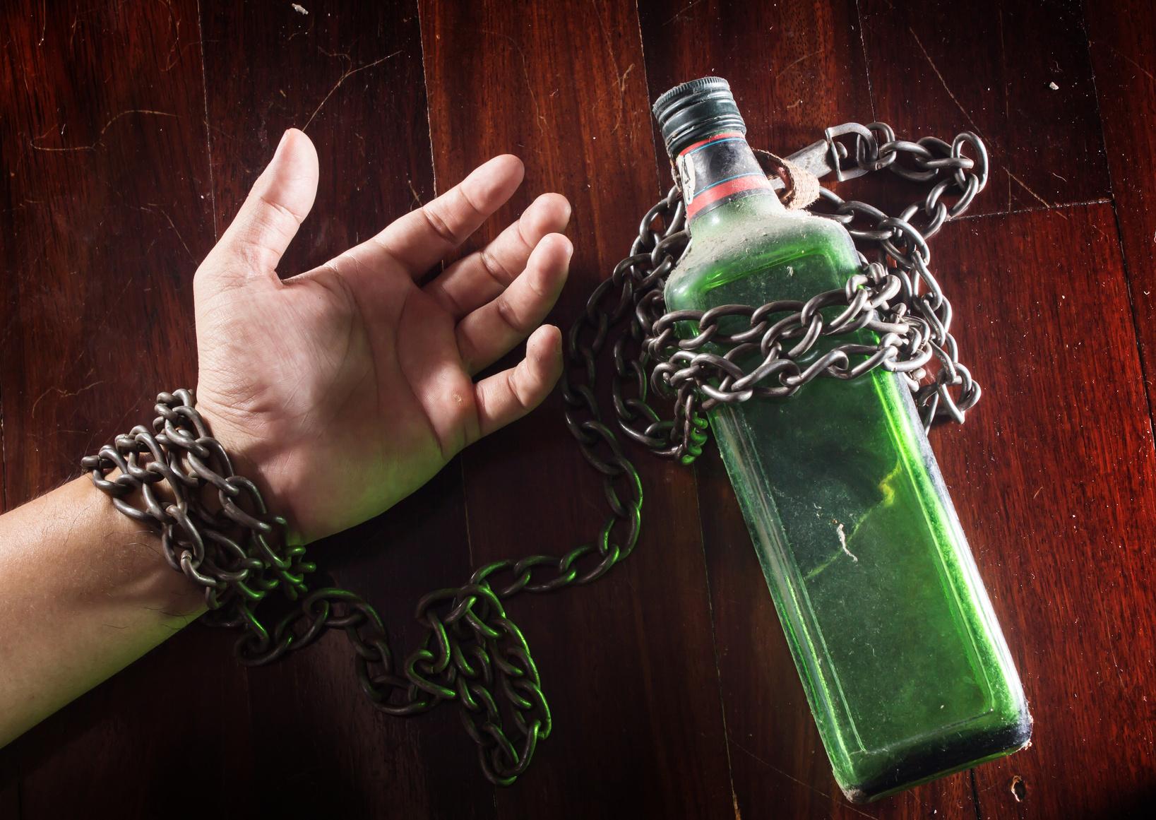 Los puntos del alcoholismo
