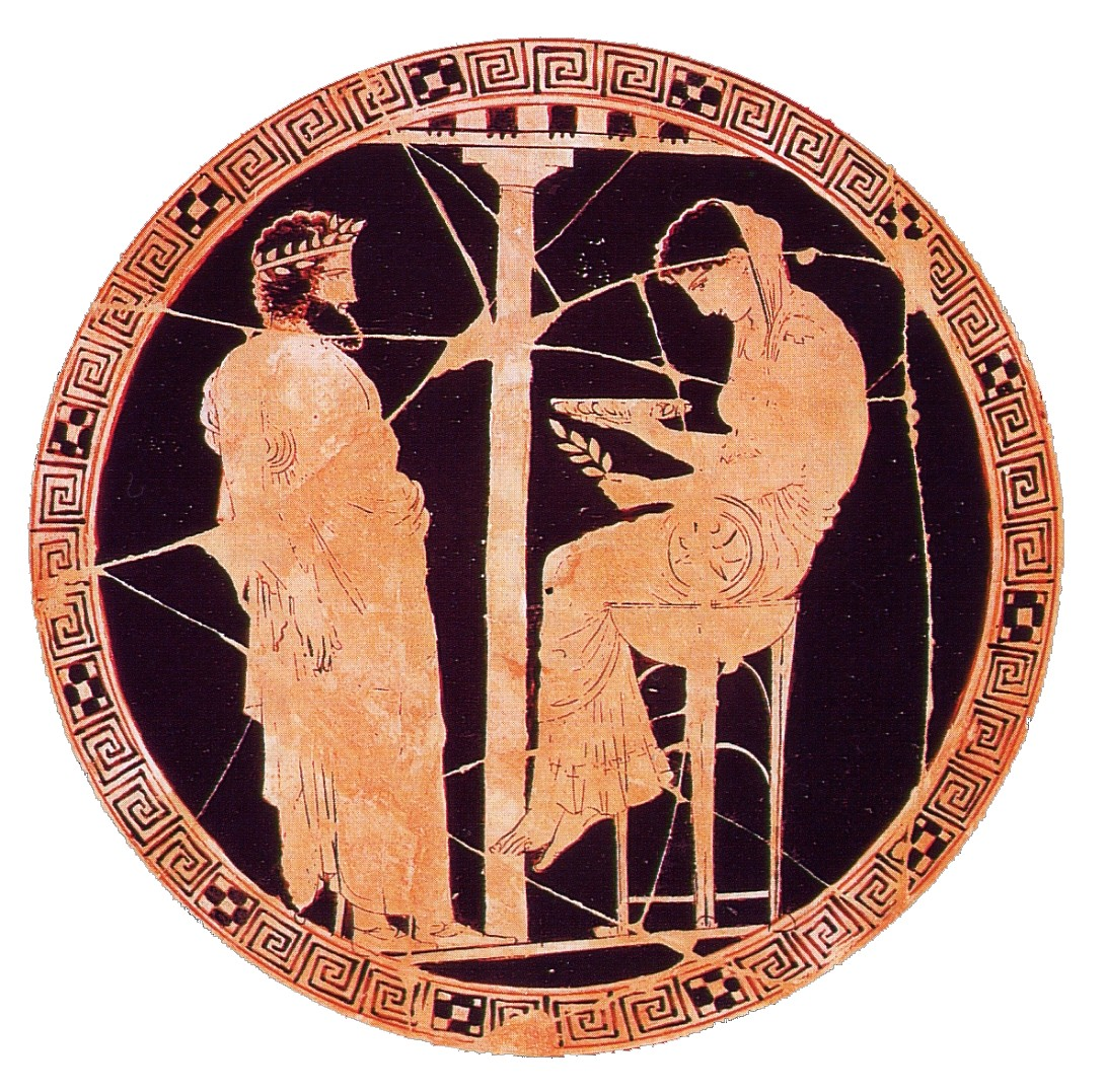 Oráculo en Grecia