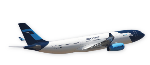 Resultado de imagen para mexicana aviacion png