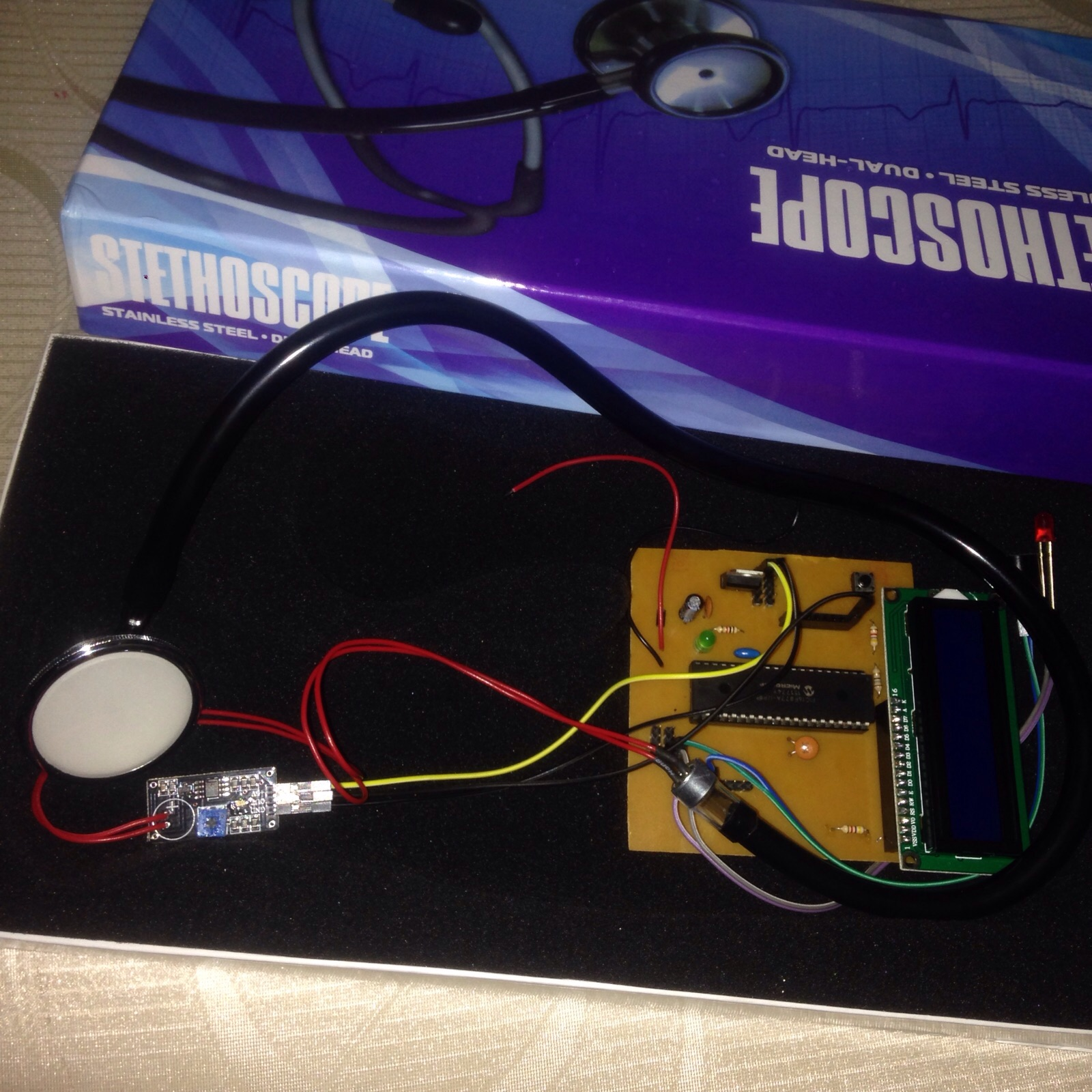 Digital Stethoscope Electronics Project Electronic Designing Engineering Sensor Converting That Sound Energy To Electricity And Running It Through Circuitry Which Can Amplify Filter By Frequency